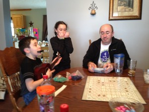 Jam session with my nieces and nephews last weekend.